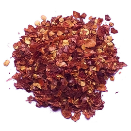 Паприка красная кусочками - 250 грамм
